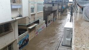 فيضانات غزه