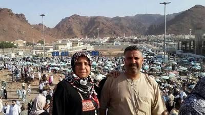 سواح ابوسيف وزوجته